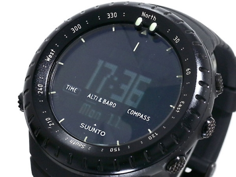 SUUNTO OUTDOOR CORE ALL BLACK