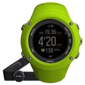 SUUNTO AMBIT3 RUN LIME HEART RATE